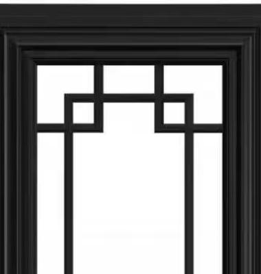 铝合金外开窗图片/铝合金外开窗样板图 (4)