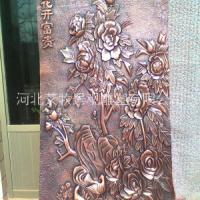 锻铜浮雕壁画 玻璃钢浮雕