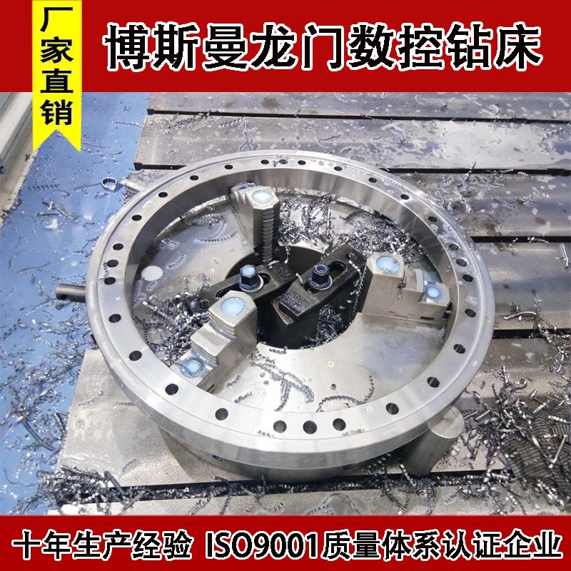 博斯曼高速数控钻钢管加工中心数控自动化设备金属钻孔机