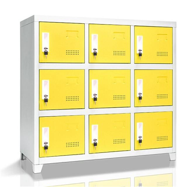 邢台市钢制书包柜定制厂家 书包柜供应商 低价定做柜子