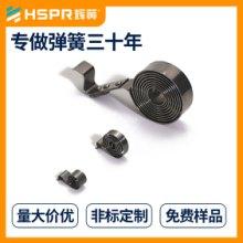 不锈钢涡卷弹簧  自动收线器涡卷弹簧 汽车安全带涡卷弹簧 显示器升降涡卷弹簧 货架推进器发条批发