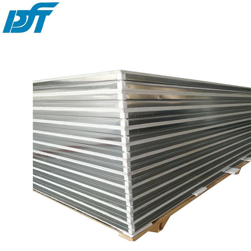 高强度中空玻镁机制板  防火玻镁彩钢板    玻镁净化彩钢板