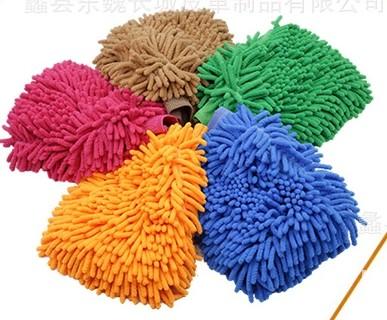 优质雪尼尔洗车手套,批发擦车洗车手套,沧州市洗车手套直销厂家