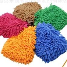 优质雪尼尔洗车手套,批发擦车洗车手套,沧州市洗车手套直销厂家图片