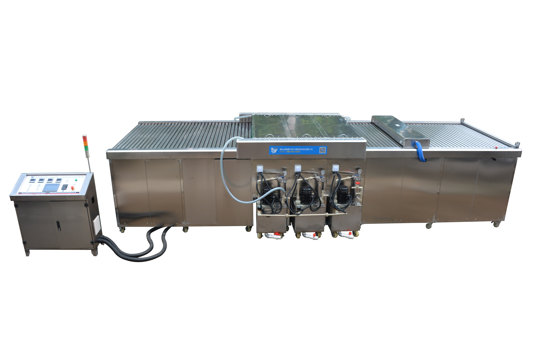 非标定制除污除尘钢化玻璃清洗烘干机板材清洗机