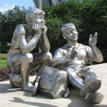北京不锈钢雕塑厂家-供应-定做