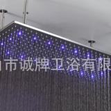 500*1000MM淋浴花洒酒店淋浴泳池过道花洒@超大尺寸LED顶喷花洒厂家直销