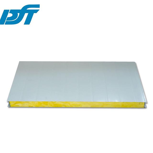 厂家定制岩棉玻镁机制板 防火岩棉玻镁净化板