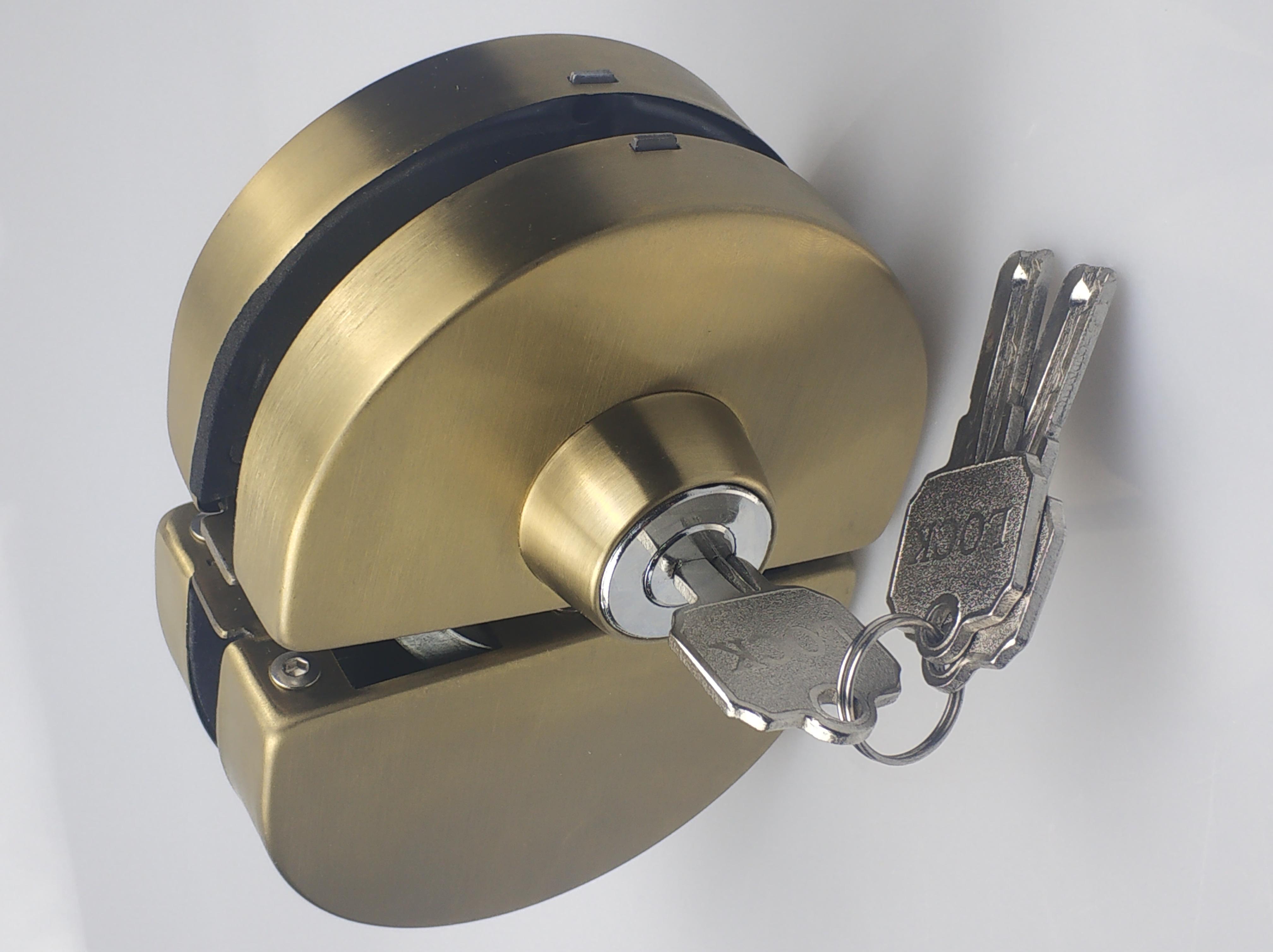 插销单开单拧 中央锁Z-801 玻璃门办公室门锁-厂家 供应商