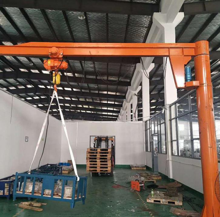 厂家直销 BZD定柱式悬臂起重机多规格可定制小型电动旋臂吊