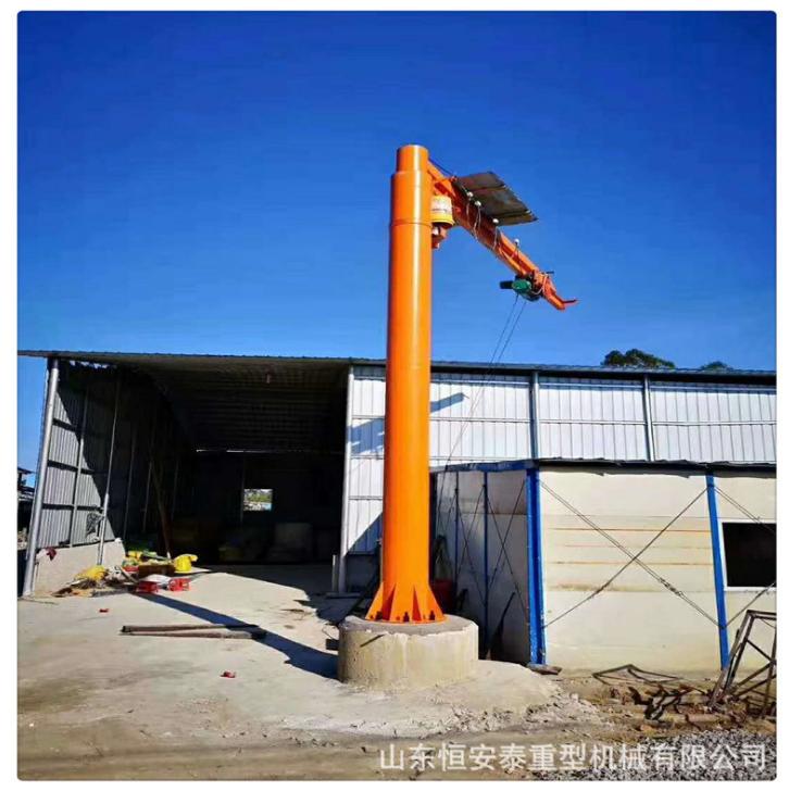 山东厂家直销耐用悬臂吊2T 固定式悬臂起重机 小型电动悬臂吊价格 山东电动悬臂吊