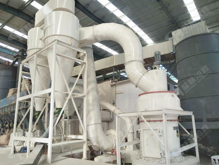 325目铝矾土生粉生产线HC1700纵摆式磨粉机