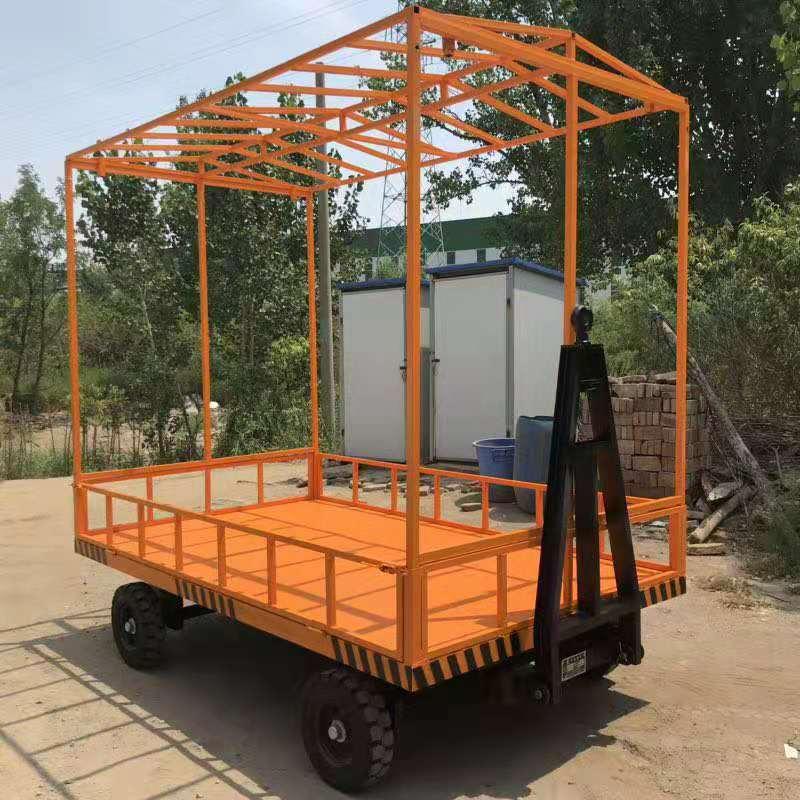 20吨型大载重拖车 厂区转运平板拖车 定做平板运输车万博丰升降机械专业生产