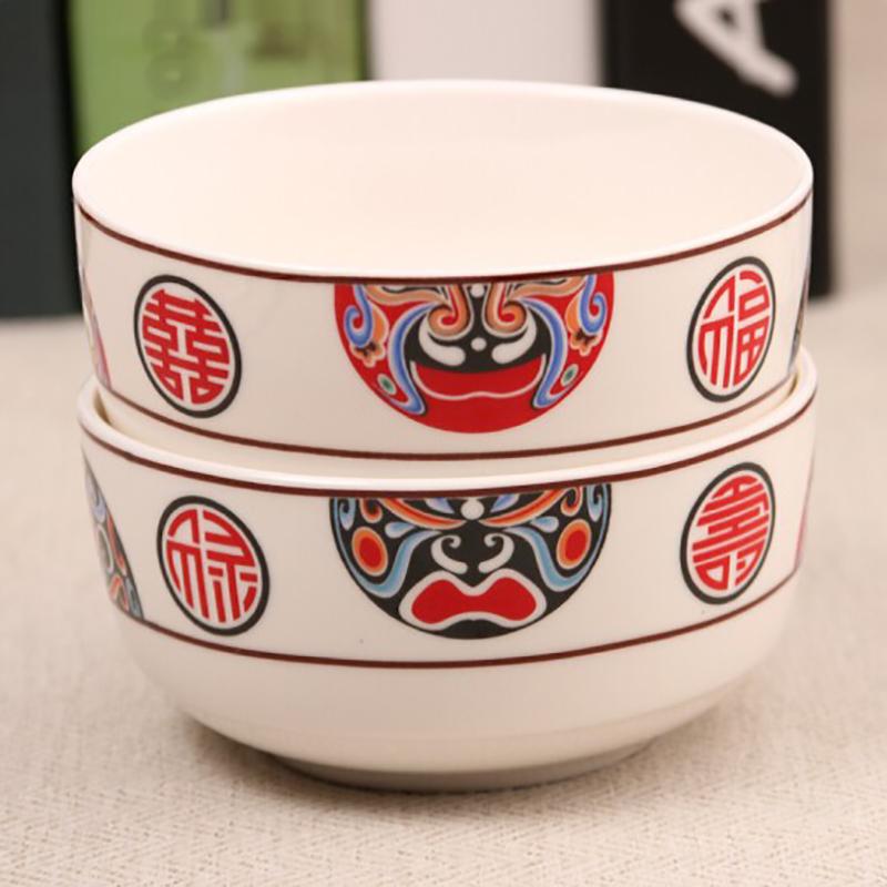厂家供应销售骨瓷碗韩式碗礼品碗促销碗可加工定制加印logo