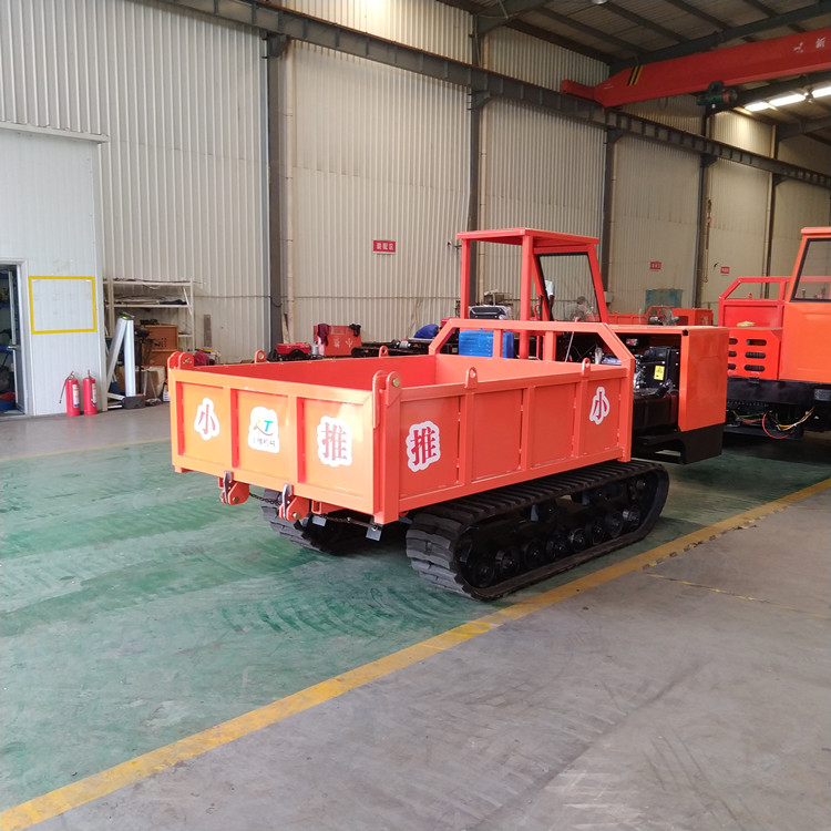 履带运输车 履带拖拉机 6吨工程自卸车 翻斗车 爬坡虎