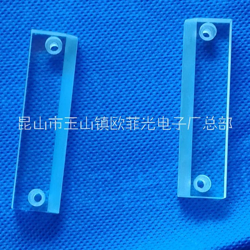 非标定制石英玻璃片 加工各种石英玻璃打孔