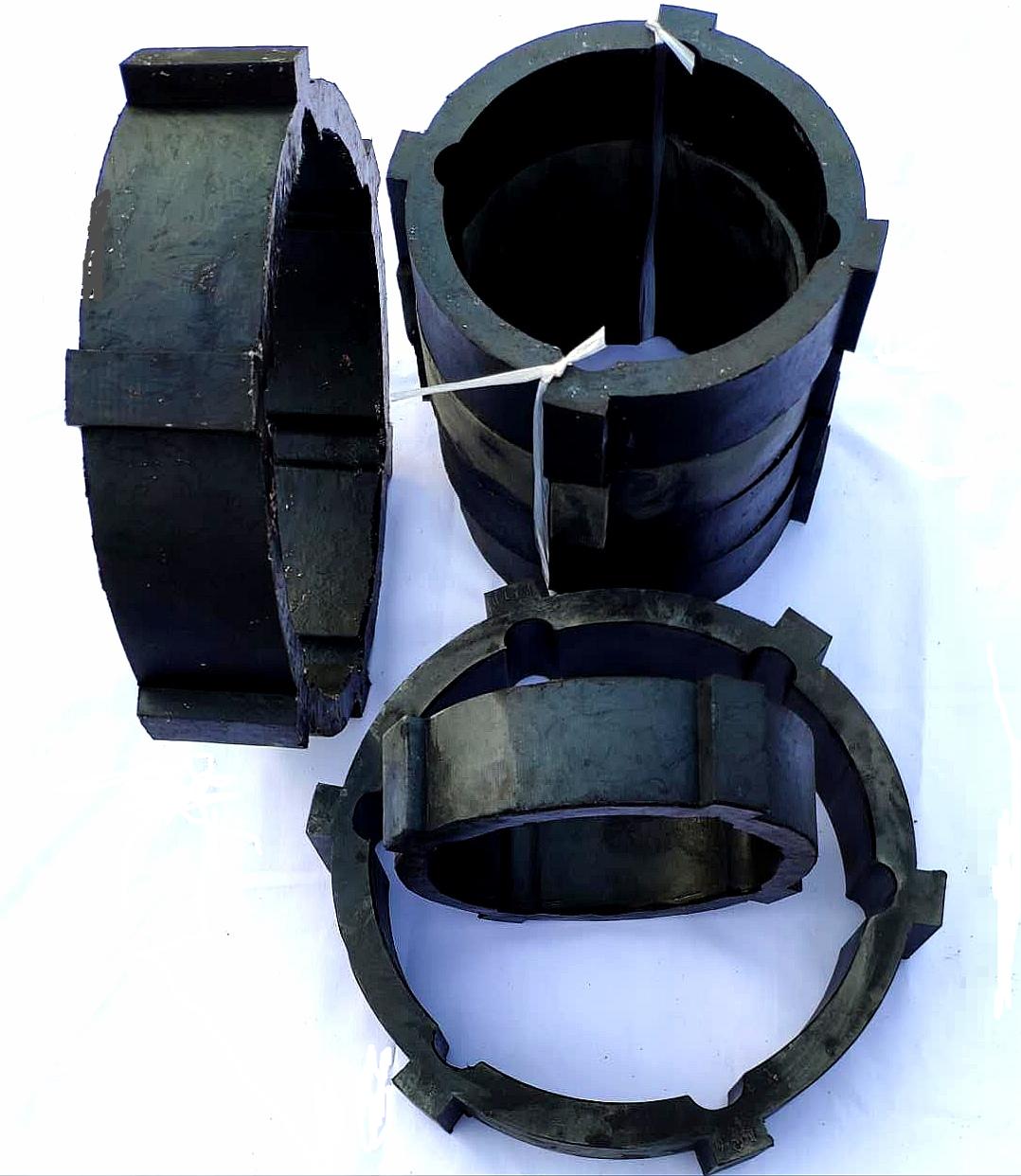 橡胶轴承,橡胶瓦翻新,水力发电机组橡胶瓦