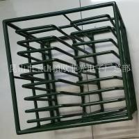 清洗篮包覆绿色胶水304不锈钢加工