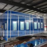 伟航汽车打磨房WH-001汽车连体房电加热环保设备 汽车烤漆房WH-001
