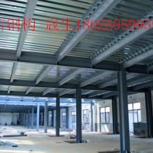 广州市钢结构阁楼平台板搭建图片