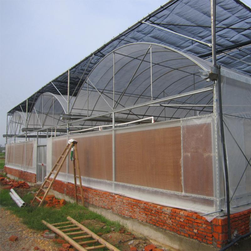 济农园艺GSW-832连栋薄膜温室大棚 GSW-6252连栋薄膜温室大棚