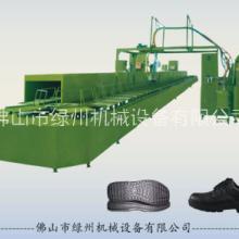 PU鞋底生产设备  聚氨酯拖鞋/鞋底灌注生产线 PU注塑机 PU大型机械 绿州 生产厂家 价格好 质量好