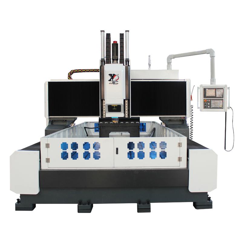 博斯曼高精度数控钻床大型平面钻床三维数控钻法兰管板数控钻孔机
