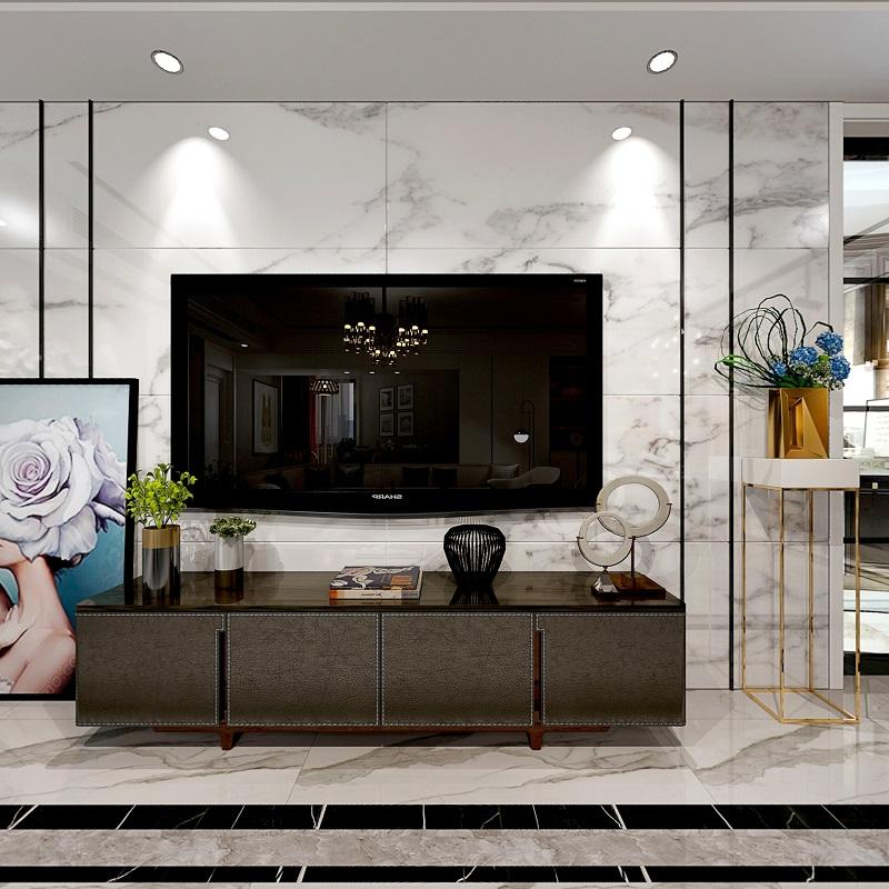 南京月新公寓150平装修设计案例-南京新爱华装饰
