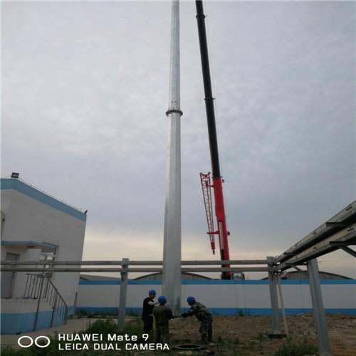30米独立避雷针接闪杆生产厂家【河北万邦鼎昌电力设备有限公司】