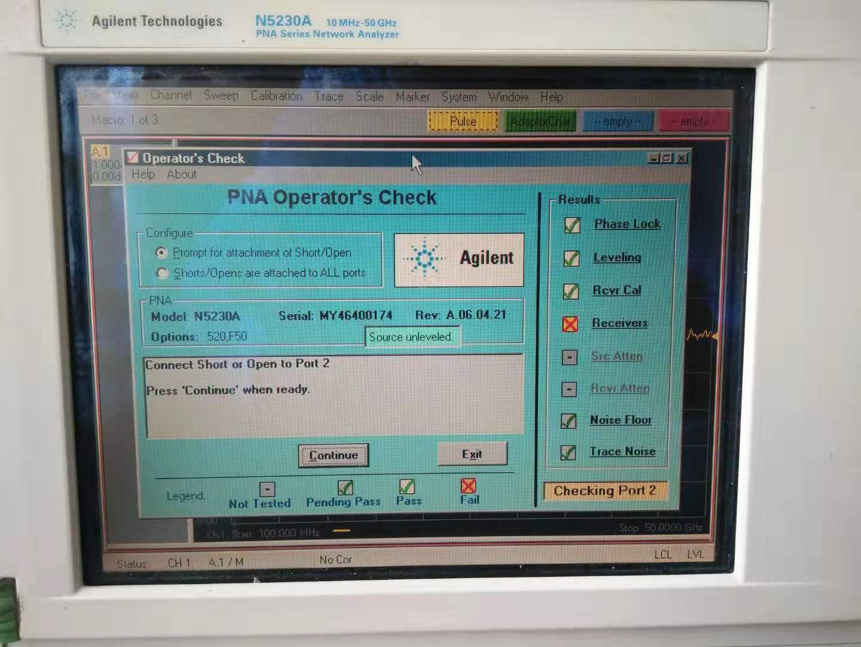专业维修网络分析仪E8364A