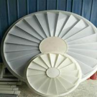 加工定做脱硫塔旋流板  PP旋流板  环保设备专用旋流板厂家