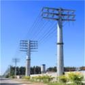 西安10KV电力钢杆图片