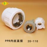 PPR内丝直接 PPR管件 内牙直接 内丝直通 PPR 水管配件水管水暖 ppr ppr管件
