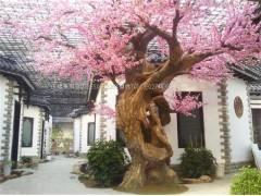 仿生桃树雕塑供应价格,价钱,报价[金华市双丰雕塑工程有限公司]