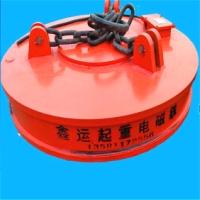 MW5吊运废钢用起重电磁铁,价格优,电磁吸盘型号,生产厂家【临清市鑫运机械有限公司】
