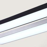 LE LED超薄斜边净化面板灯   超薄斜边净化灯 LED超薄净化面板灯 弧形净化灯 超薄边弧形净化灯 LED吊线办公灯