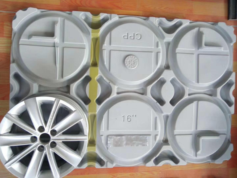 定制各种尺寸厚片吸塑托盘 HDPE厚片吸塑盘哪家好