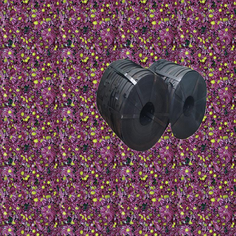 Y 0.30*36mm Q195铁路专用黑退波纹管带钢 现货供应 桥梁用金属波纹管带钢