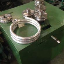 一次成形弯圆机 自动卷圆器 平台 平弯 弯弹簧圈 弯圆弧 滚弯机 正谷机械图片