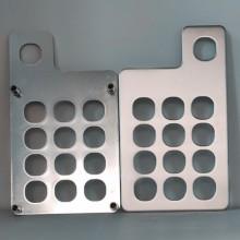 厂家定制1.5MM304不锈钢金属开关面板墙壁插座面板五金冲压铭板批发