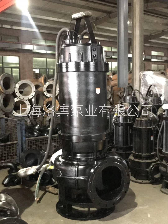 洛集泵业JYWQ潜水排污泵大流量不堵塞固体颗粒污水泵节能高效 厂家直销现货供应