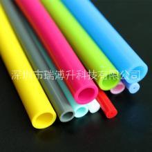彩色硅胶管卫浴硅胶防护套金属软胶套管 宠物牵引矽橡胶管3*4*5*6