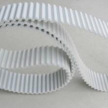 厂家热销 白色钢丝聚氨酯同步带,聚氨酯无缝同步带,耐油,传动平稳批发