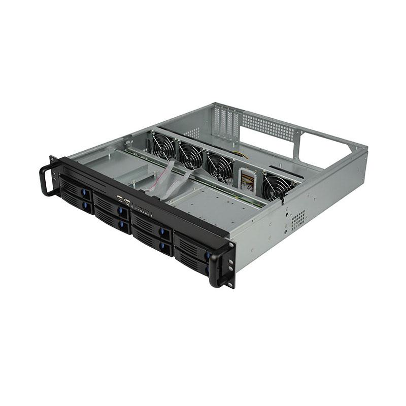 迈肯思2U服务器机R248-8 _2U热插拔机箱 服务器机箱厂家