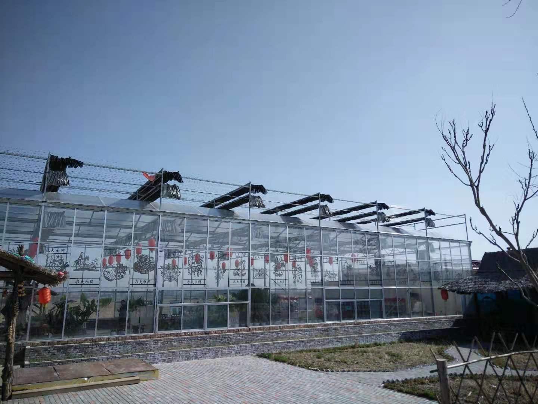 智能温室大棚∣智能连栋温室∣智能玻璃温室-邯郸市鑫凯农业科技有限公司