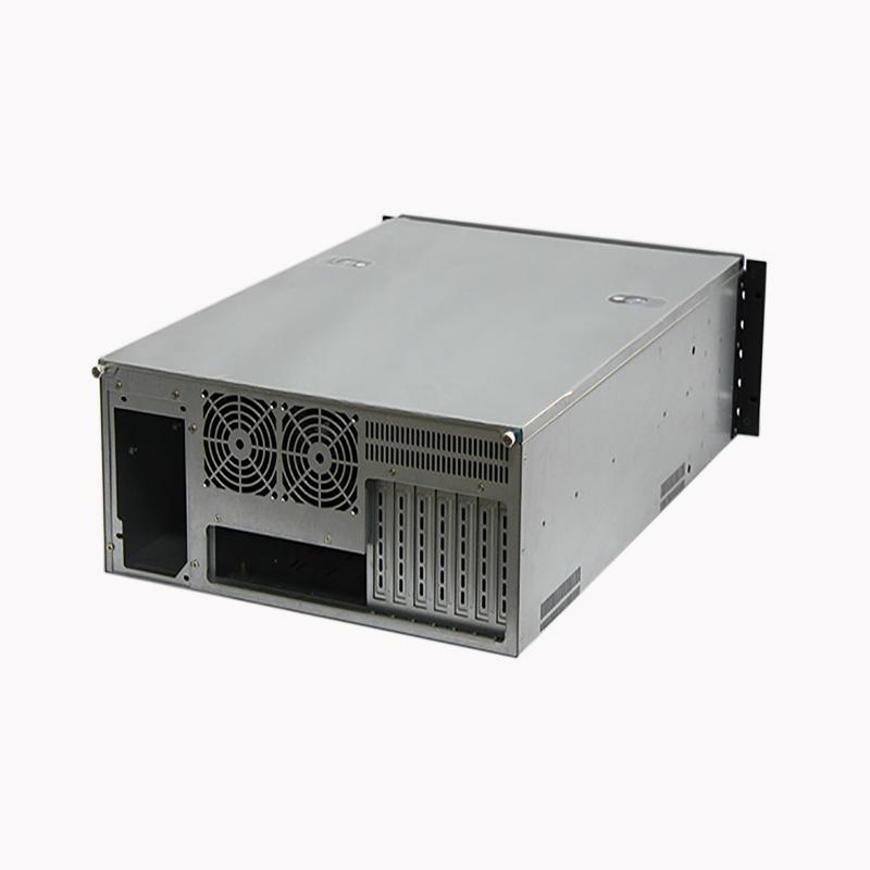 迈肯思4U服务器机R466-204U机箱20盘服务器机箱热插拔硬盘位660MM深PC电源12*13双至强主板