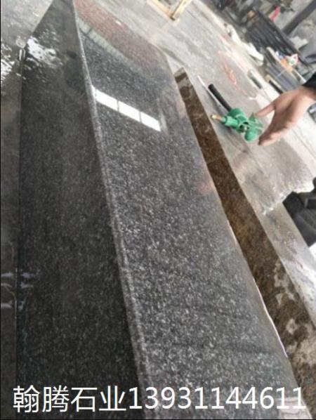 优质厂家供应深灰麻石材路沿石