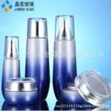 厂家定制120 100 40ml水乳套装瓶 50g30膏霜瓶化妆品玻璃瓶套装