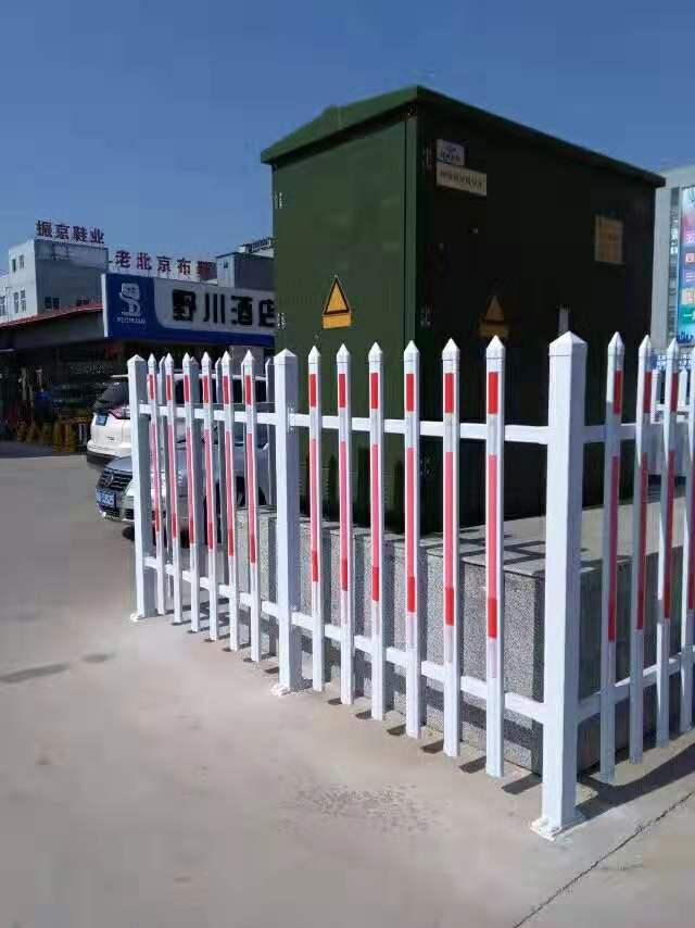 盐山荣盛护栏生产-沧州孟村锌钢变压器护栏、厂房围栏、绿化草坪护栏生产厂家  孟村锌钢变压器护栏、厂房围栏