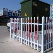 盐山荣盛护栏生产-沧州孟村锌钢变压器护栏、厂房围栏、绿化草坪护栏生产厂家  孟村锌钢变压器护栏、厂房围栏图片